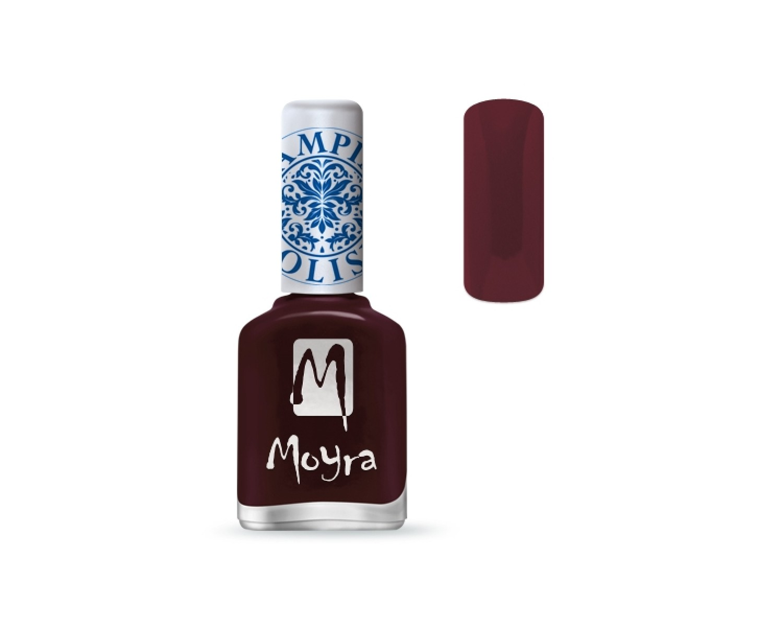Moyra - Burgundy Red