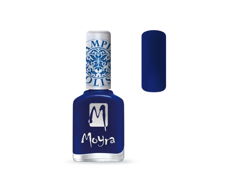Лак для стемпинга Moyra - Blue