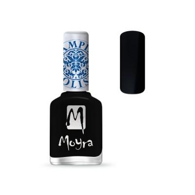 Лак для стемпинга Moyra - Black