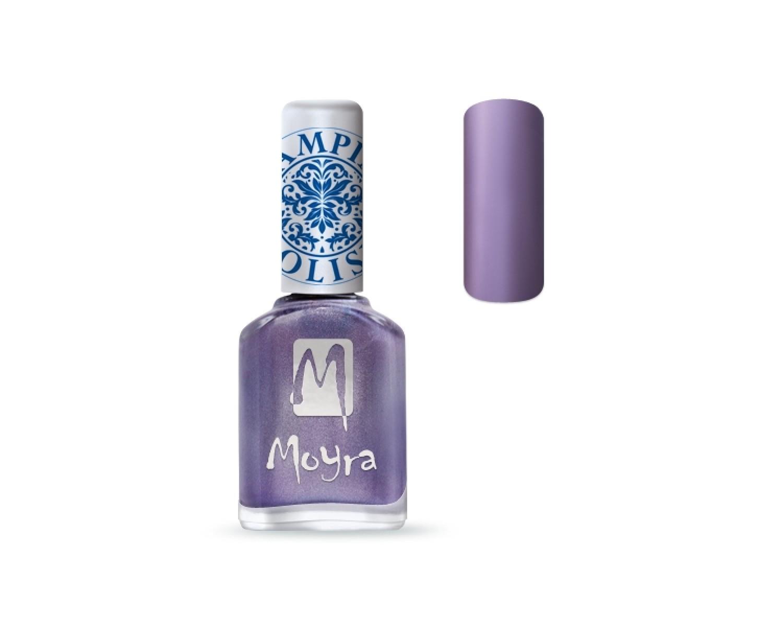 Лак для стемпинга Moyra - Metal Purple