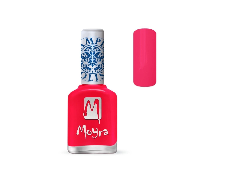 Лак для стемпинга Moyra - Neon pink