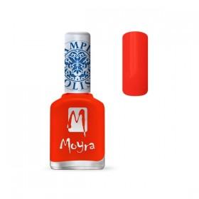 Лак для стемпинга Moyra - Neon Red