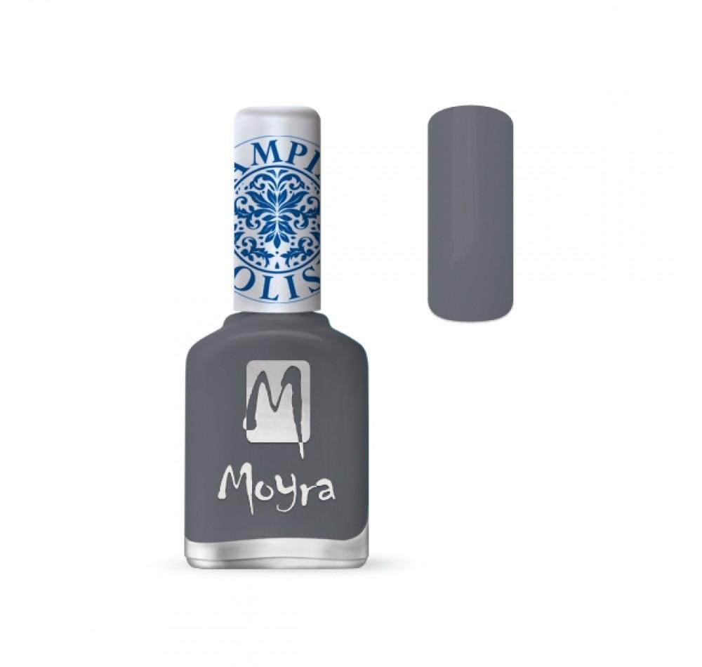 Лак для стемпинга Moyra - Grey