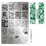 Пластина для стемпинга Moyra - Florality 2