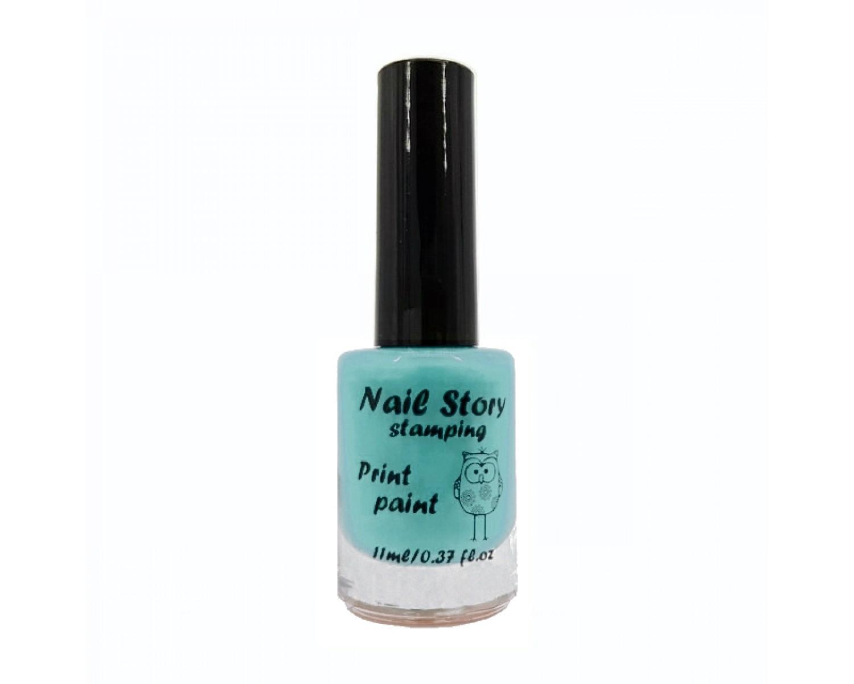 Лак для стемпинга Nail Story - тиффани