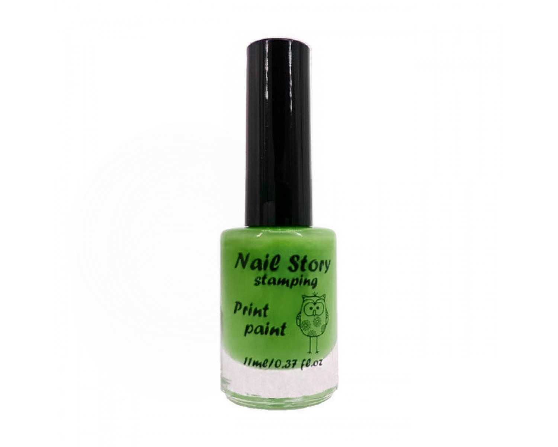 Лак для стемпинга Nail Story - салатовый