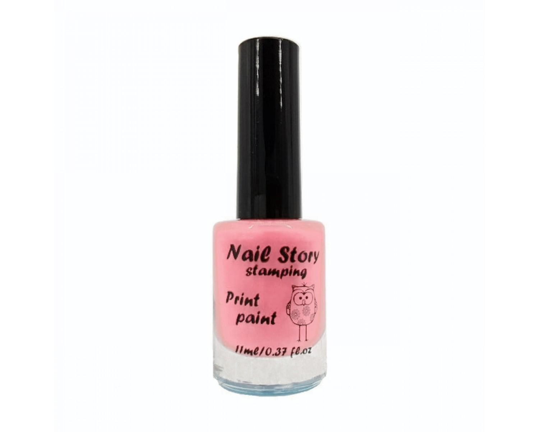 Лак для стемпинга Nail Story - нежно-розовый