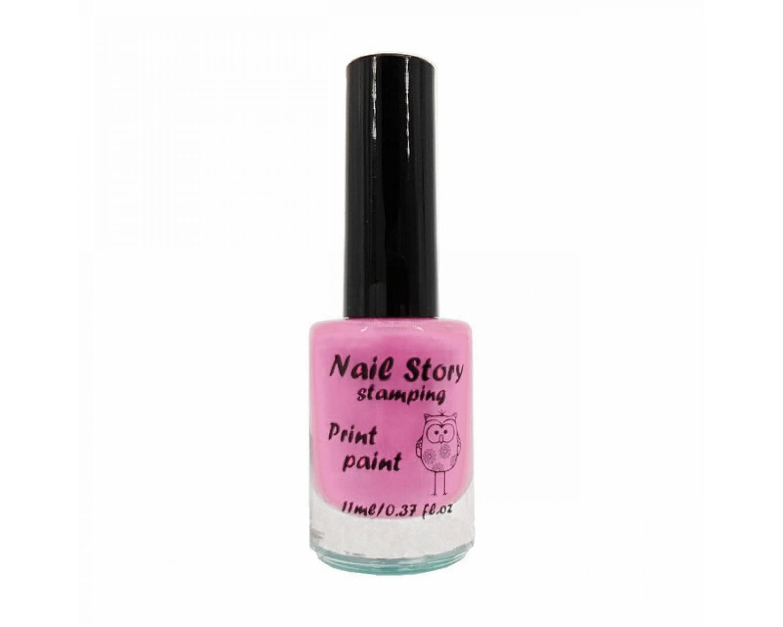 Лак для стемпинга Nail Story - лиловый