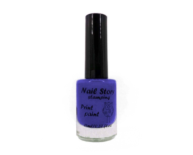 Лак для стемпинга Nail Story - синий