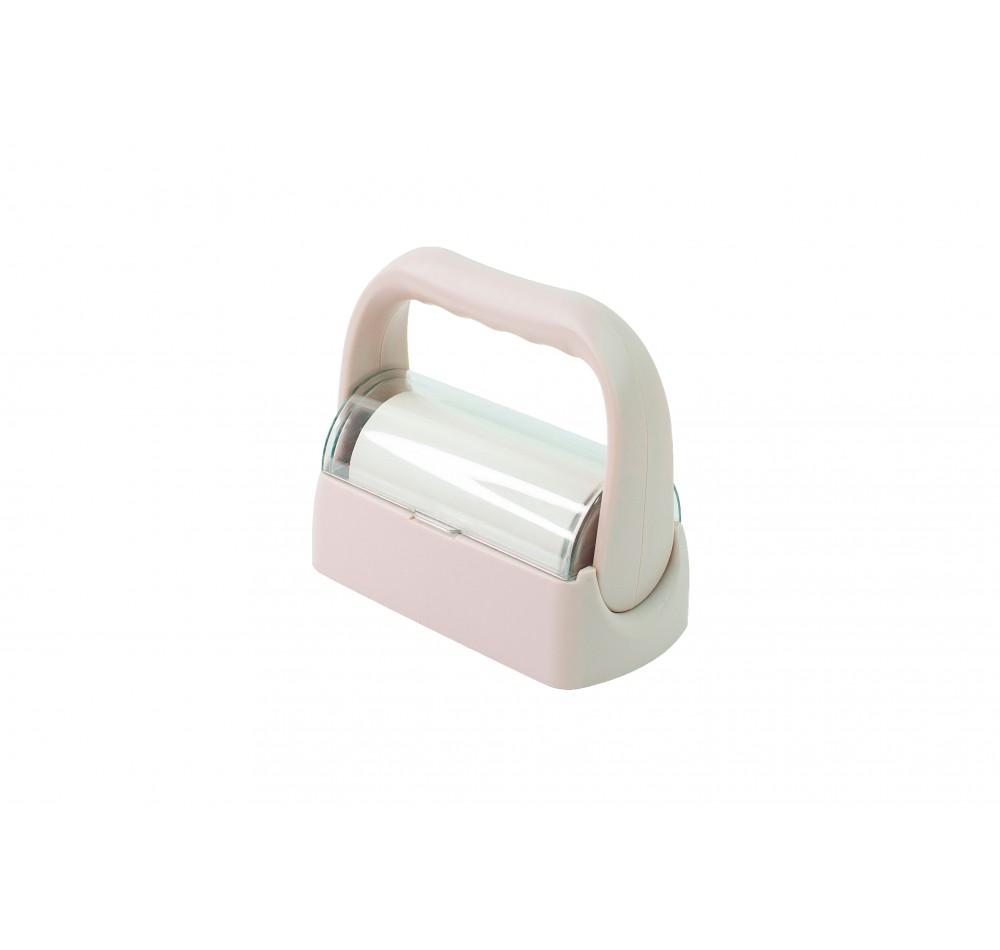 Ролик с ручкой для очистки штампа - бежевый