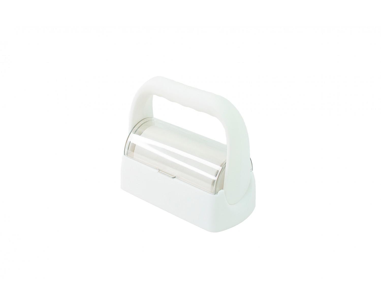Ролик с ручкой для очистки штампа - белый
