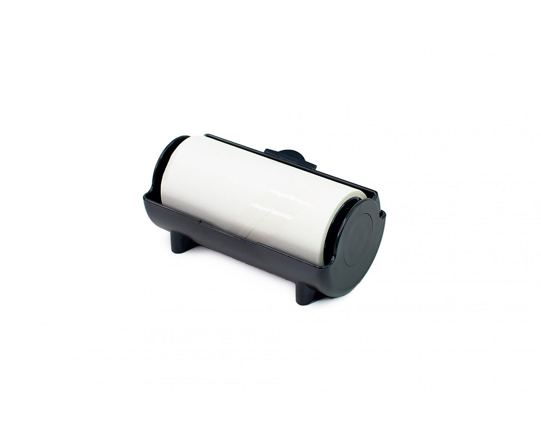 Ролик в корпусе для очистки штампа - черный