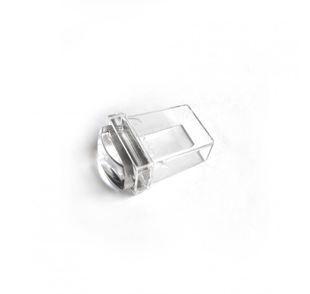Прямоугольный прозрачный штамп для стемпинга MINI Rectangle