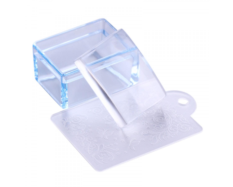 Прямоугольный прозрачный штамп для стемпинга Color Rectangle