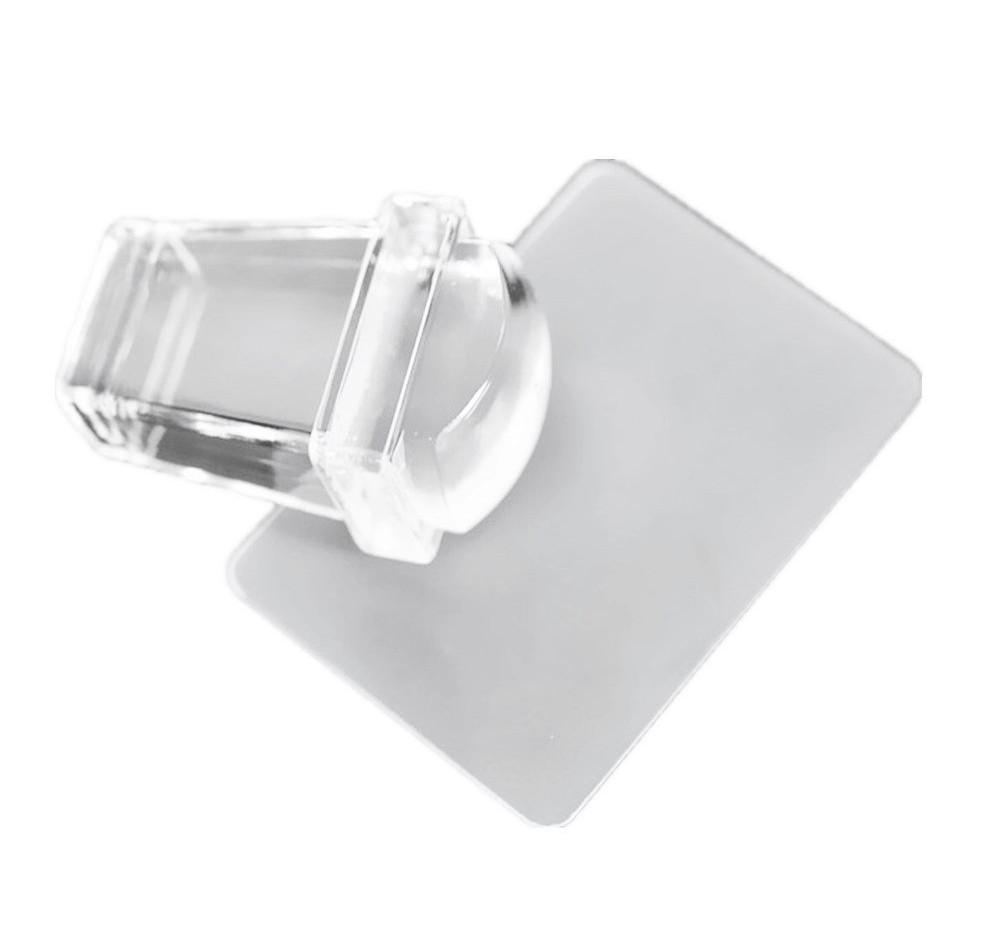 Прямоугольный прозрачный штамп для стемпинга Rectangle