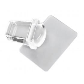 Прямоугольный прозрачный штамп