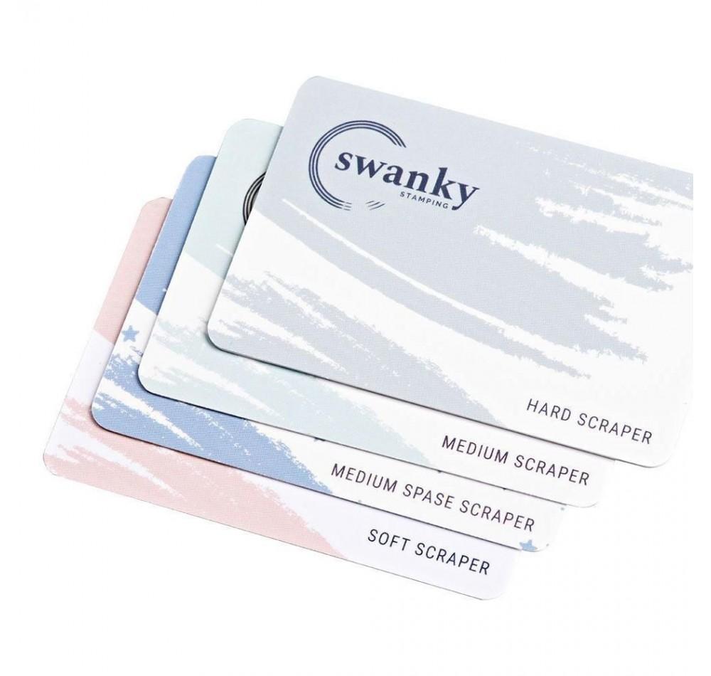 Набор скраперов Swanky Stamping (4 шт)