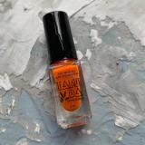 Лак для стемпинга TAKIDA 022 оранжевый, 5мл