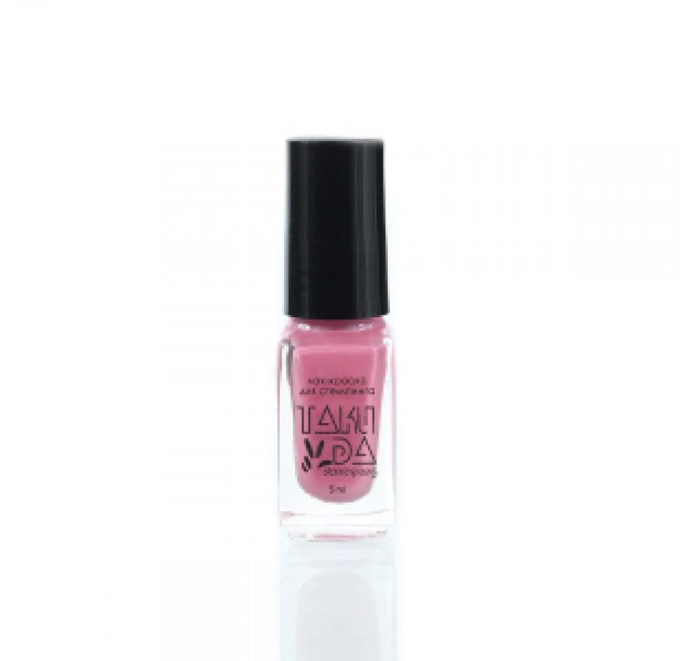 Лак для стемпинга TAKIDA 021 пастельно-розовый, 5мл