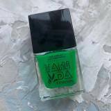 Лак для стемпинга TAKIDA 011 зеленый, 10мл