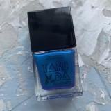 Лак для стемпинга TAKIDA 027 синий хамелеон перл хром, 10мл
