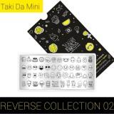 Пластина для стемпинга ТакиДа  mini 02 Reverse Collection
