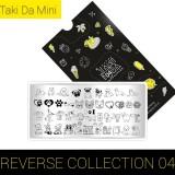 Пластина для стемпинга ТакиДа  mini 04 Reverse Collection