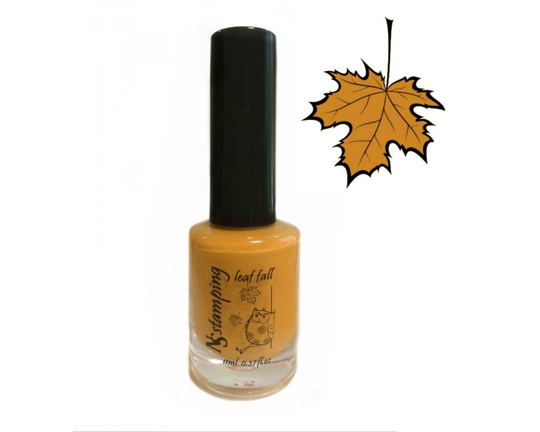 Лак для стемпинга Nail Story - Осень тыквенный №3