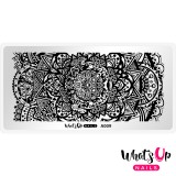 Пластина для стемпинга Whats Up Nails - A009 Mandala Universe