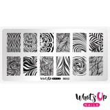 Пластина для стемпинга  Whats Up Nails - B002 Water Marble to Perfection